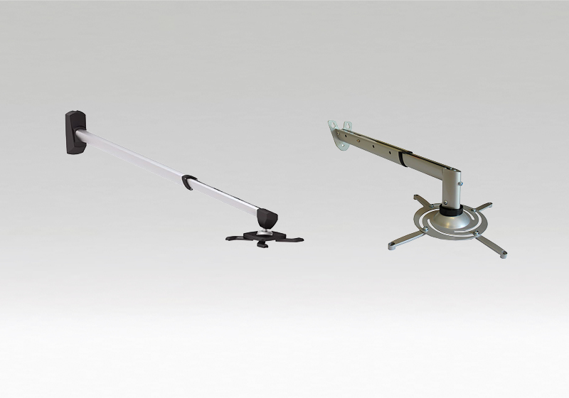 Projektor tartó konzolok