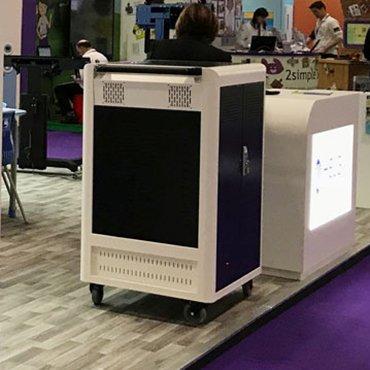 Laptop/Tablet töltő szekrények