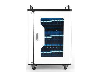 laptop és tablet töltő szekrény, UV sterilizálóval