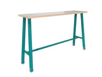 magas, keskeny multifunkciónális  6személyes asztal