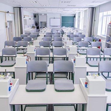Természettudományos oktatás bútorai