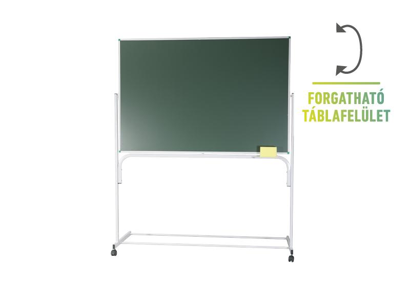 Classic forgatható állványos zöld táblák