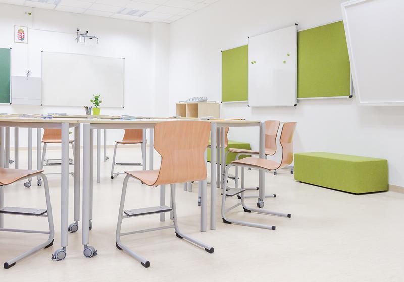 Egésznapos oktatás bútorai