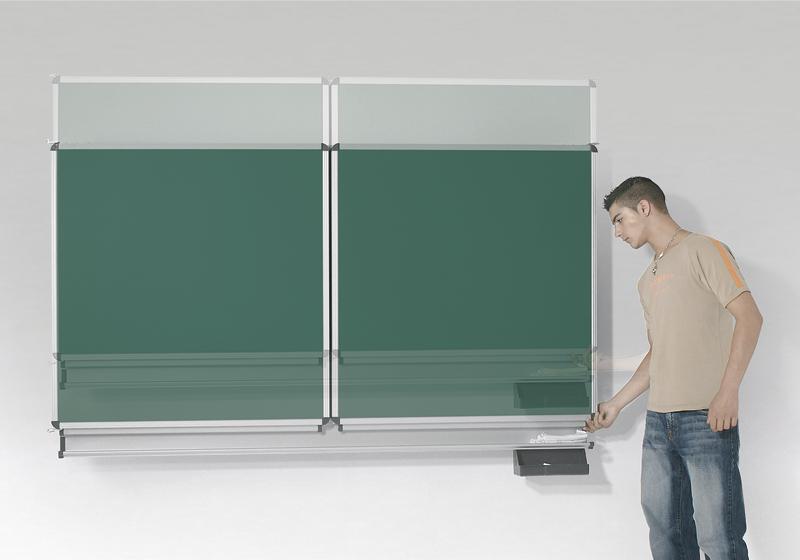 Varió függőlegesen mozgatható fali tábla