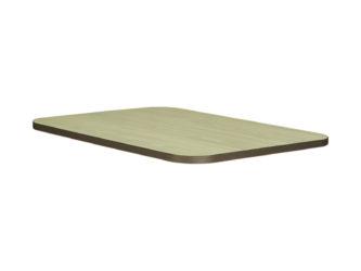 Laminált sarkos asztallap, 120x50 cm