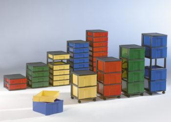 Inbox M2 dobozos tároló