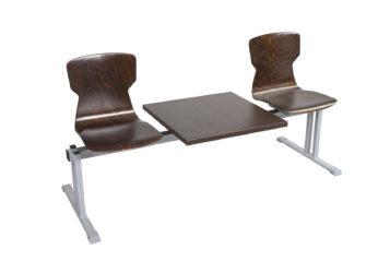 Soliwood 2 sz. sorszék, asztallal