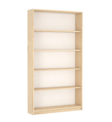 4 polcos klasszikus szekrény