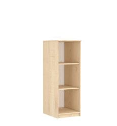 2 polcos klasszikus szekrény