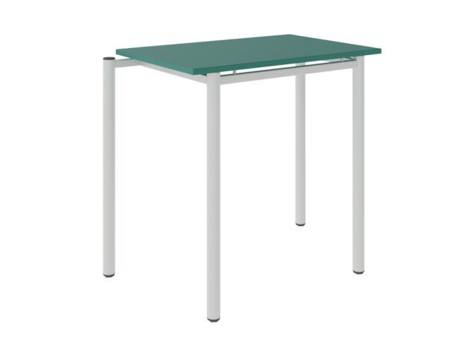 tanulói asztal, laminált sarkos asztallap