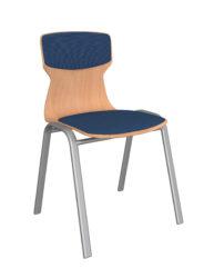 Atlasz Soliwood kárpitbetétes szék