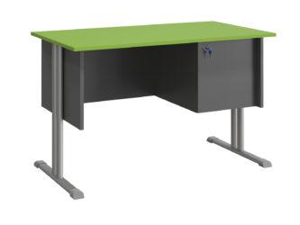 Atlasz tanári asztal szekrénnyel