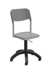 gázrugós tanári szék, polipropilén