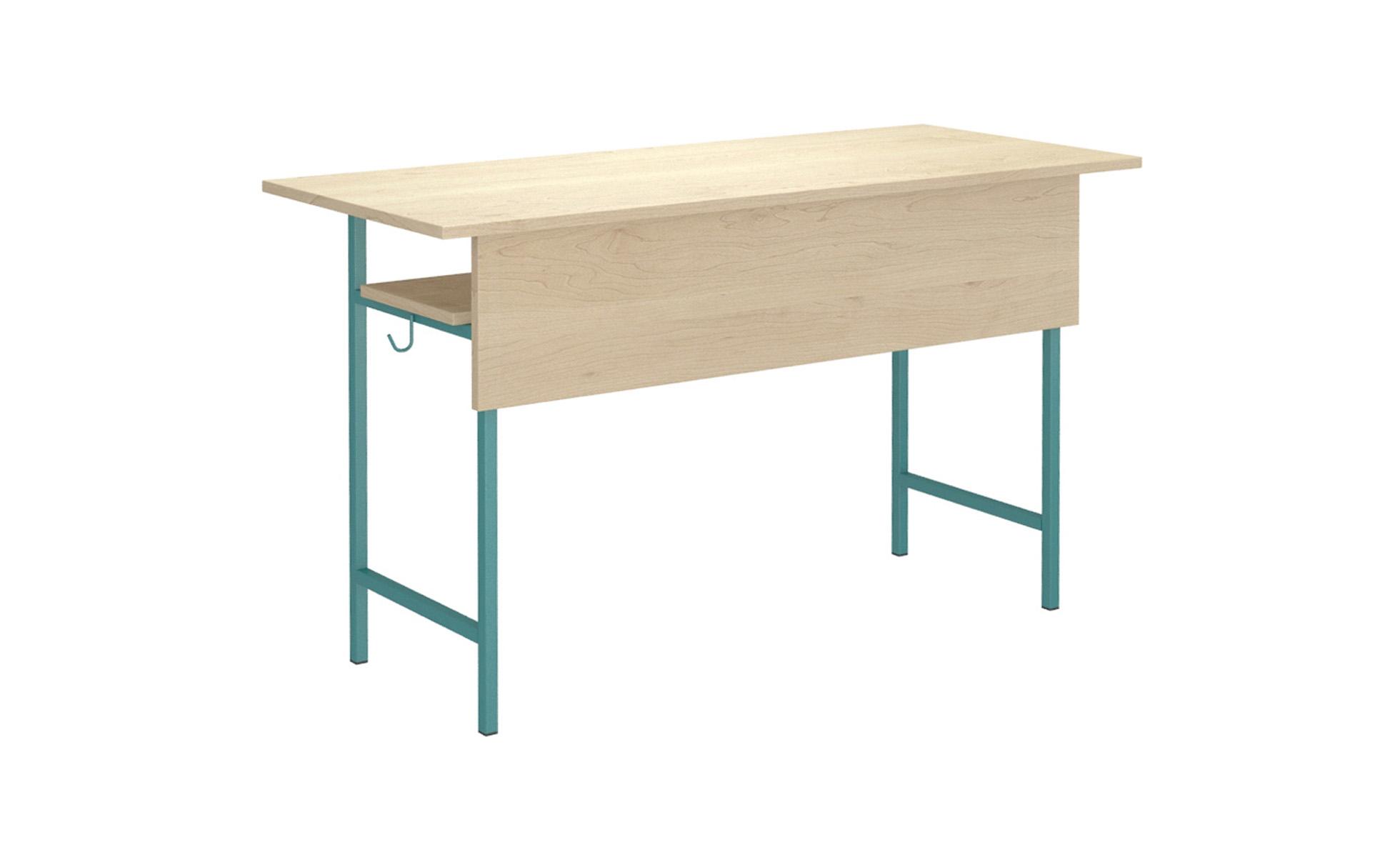 N.csővázas tanuló asztal Iskolabútor