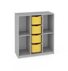 iskolai szekrény,  görgős, Gratnell's fiók