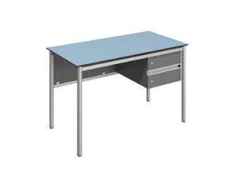 FLEX tanári asztal, 2 fiók