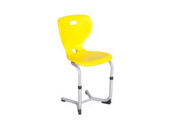 tanulói szék, műanyag palást