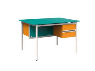 FLEX szembenülős tanári asztal
