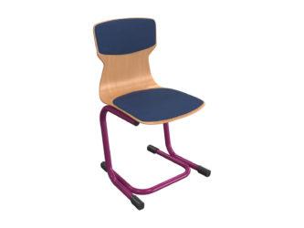 kárpitbetétes ülő- és hátlap, rakásolható