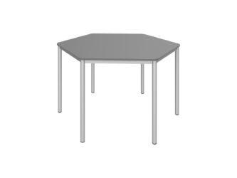 Hatszög asztal