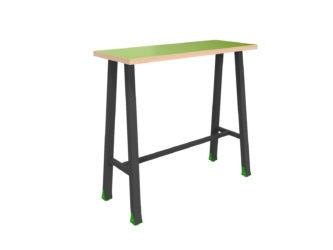 magas, keskeny multifunkciónális  4 személyes asztal