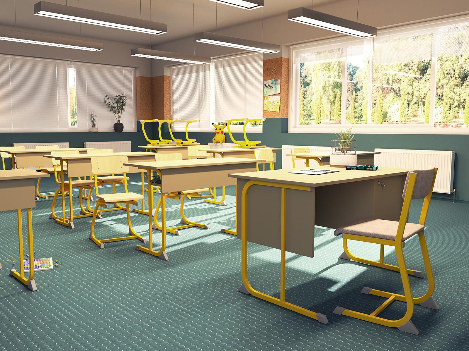 Derby Soliwood tanulói szék Iskolabútor