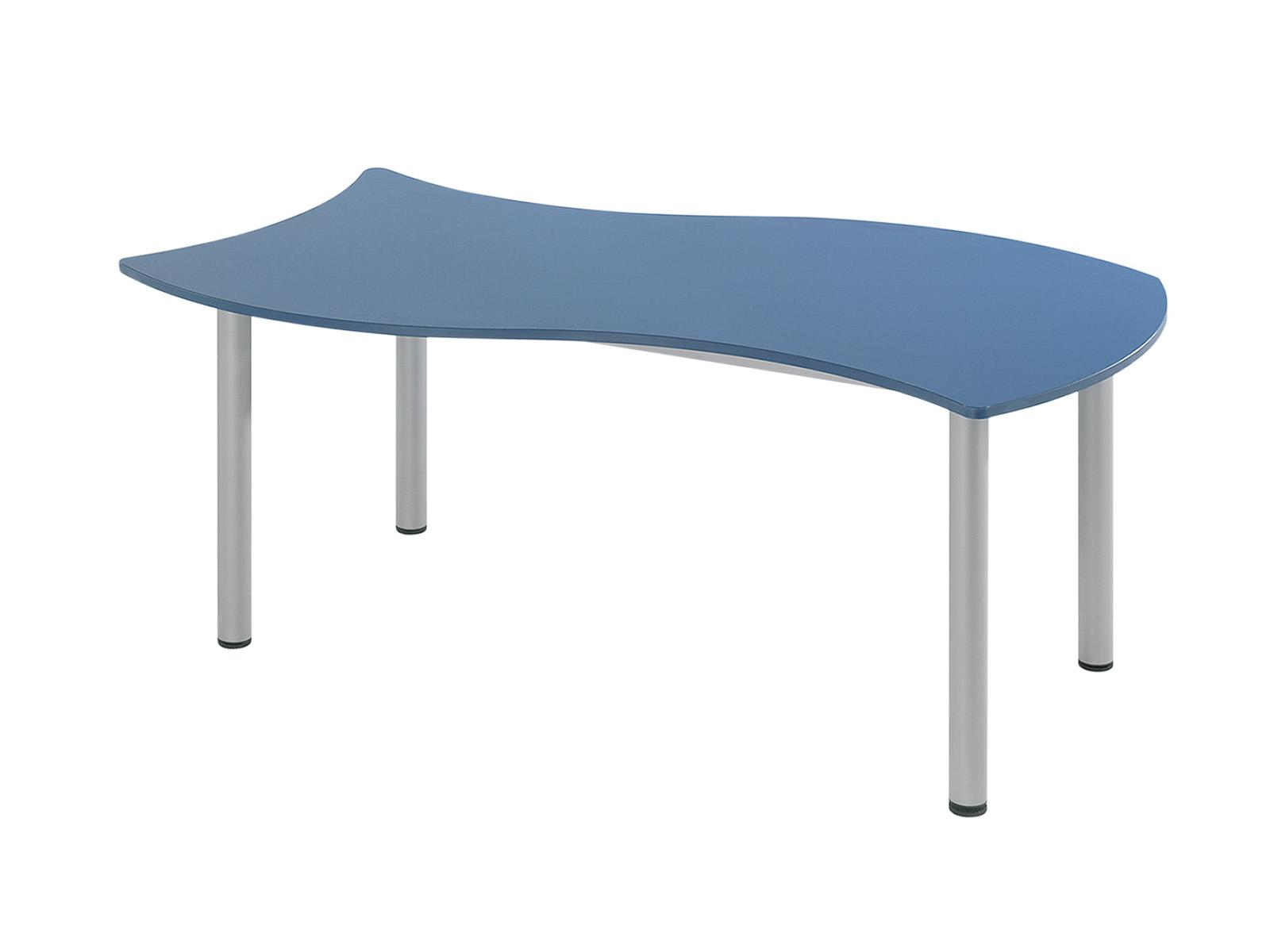 téglalap asztal, szintezhető, laminált