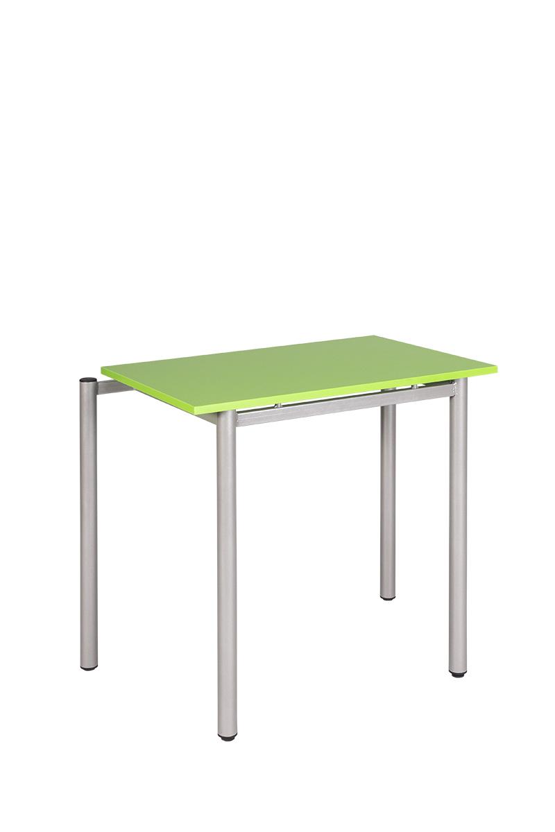 tanulói asztal fiókkal, kompaktlemez, sarokos