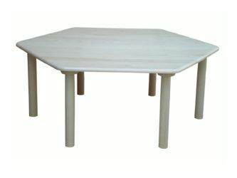 Donald hatszög asztal