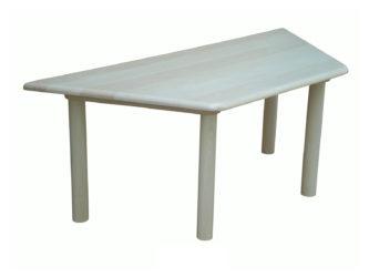 Donald trapéz asztal