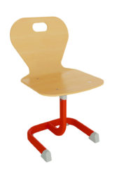 Geo állítható magasságú óvodai szék rétegeltlemez palásttal