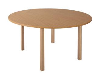 Mese kör asztal fa vázzal - 120 cm
