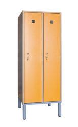 2 ajtós öltözőszekrény - OTB-140-2-Rács