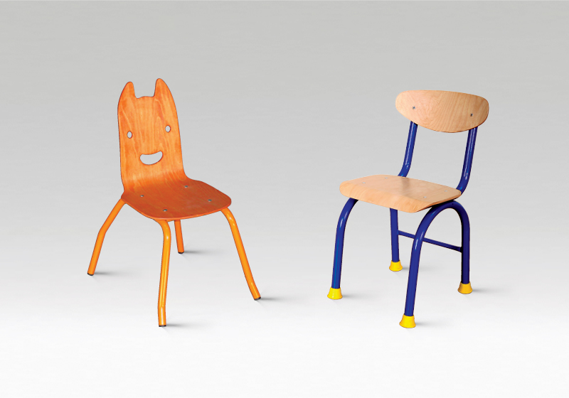 Fém óvodai székek
