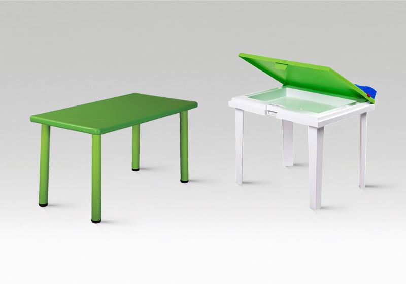 Műanyag óvodai asztalok