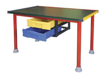 Rajztábla asztal 120×60 zöld