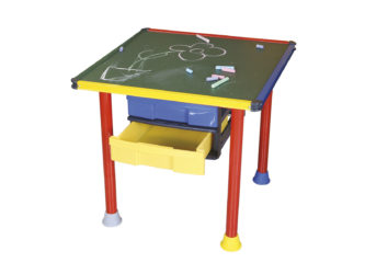 Rajztábla asztal 60×60 zöld