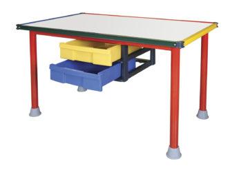 Rajztábla asztal 120×60 fehér