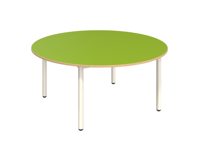 Mese kör asztal dekorit asztallappal