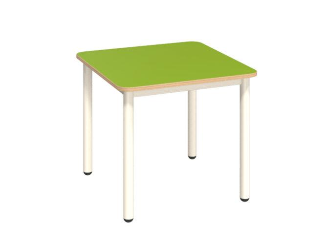 Mese négyzet asztal dekorit asztallappal