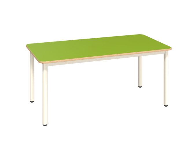 Mese téglalap asztal dekorit asztallappal