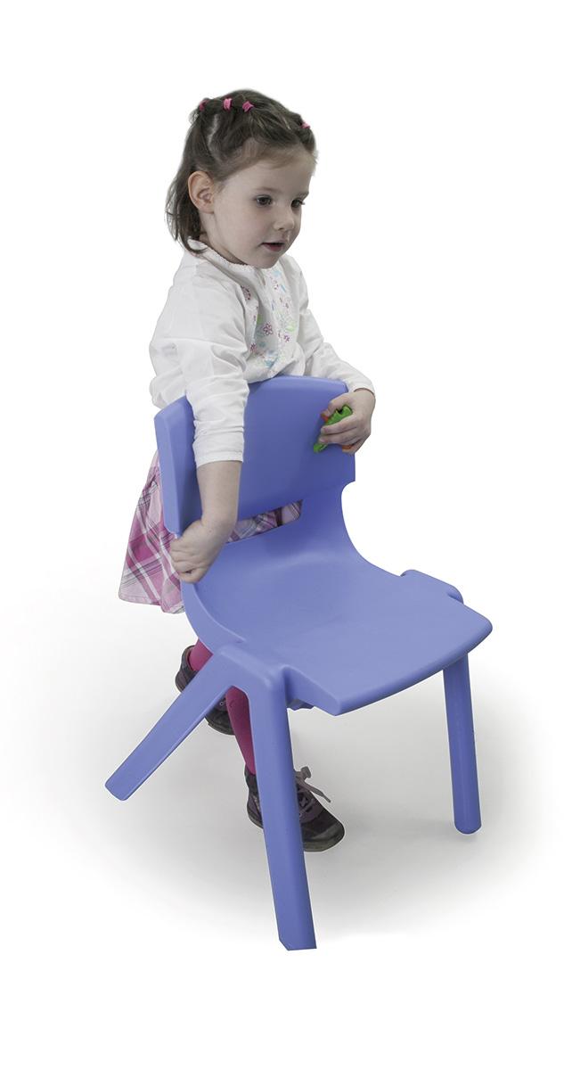 Szivárvány műanyag óvodai szék
