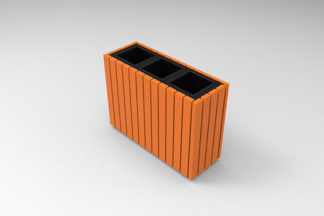 Easy Cube szelektív hulladékgyűjtő