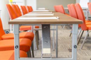A450 acélvázas asztal