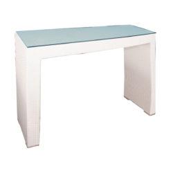 Polyrattan bárasztal