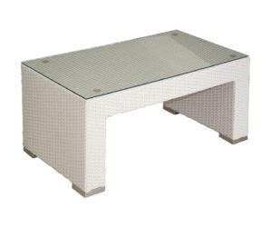 Polyrattan asztal