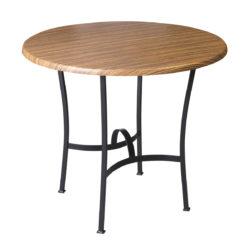 Kovácsoltvas asztalbázis