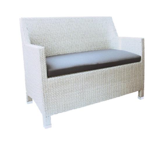 Polyrattan kanapé