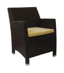 Polyrattan fotel