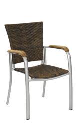 Polyrattan szék